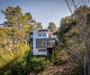 Kaliforniya dağ evi tasarımı
