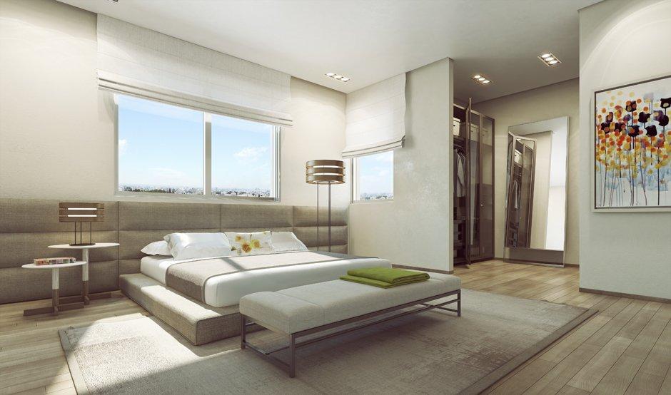 3d villa 25 modern platform bed dekorasyon g nl. Black Bedroom Furniture Sets. Home Design Ideas
