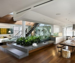 Şehir İçinde Doğal Bahçe ve Ev Tasarımı