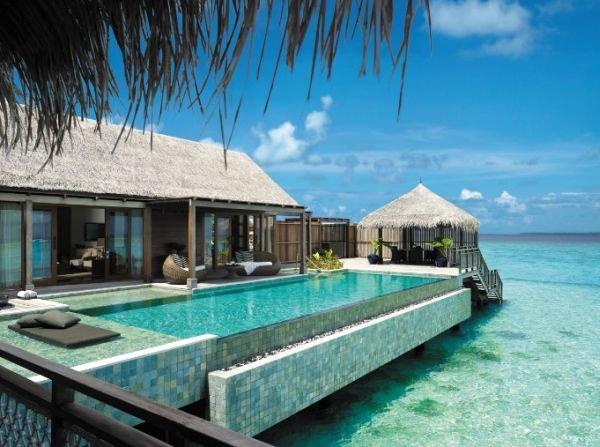 Havuz Shangri-La s Villingili Resort   Spa  Maldives