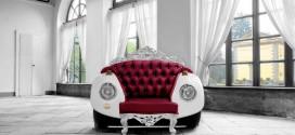 Klasik Araba Şeklinde Koltuk