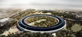 Apple Kampus İnşaatı Başladı.