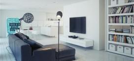 Güzel bir minimalist ev dekorasyonu