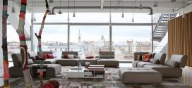 En Güzel Oturma Odası Tasarımları – Roche Bobois
