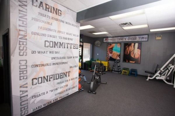 Spor odasi design your own wall mural for the home gym for Design your own mural