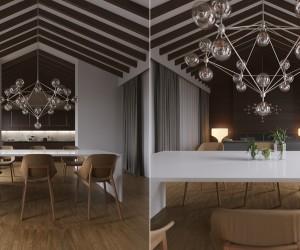 Ahşap Yemek Odası Tasarımı