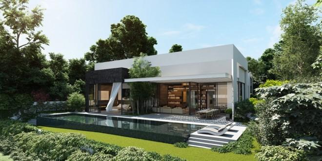 3d Lüks Villa Çizim Projesi